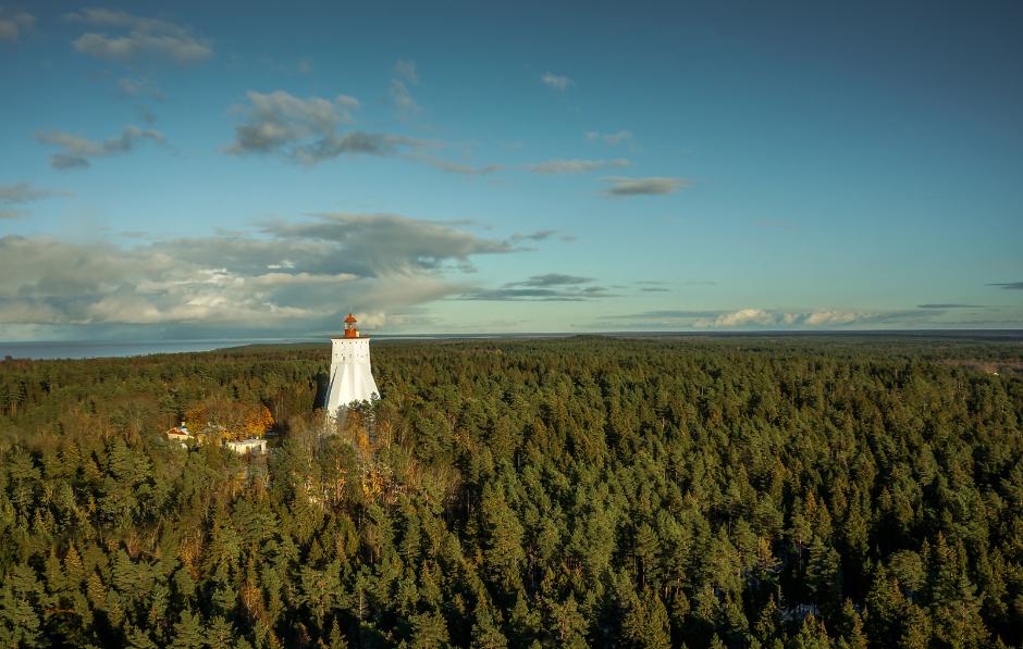 Lighthouse. Hiiumaa. Skycam.ee